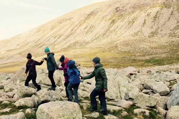 Moving Between: sensing body and environment